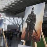 В аэропорту «Борисполь» открылась выставка картин о украинских пограничников на войне
