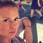 Анна Семенович показала фото в мини (фото)