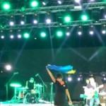 В России началась травля Земфиры за выступление с украинским флагом