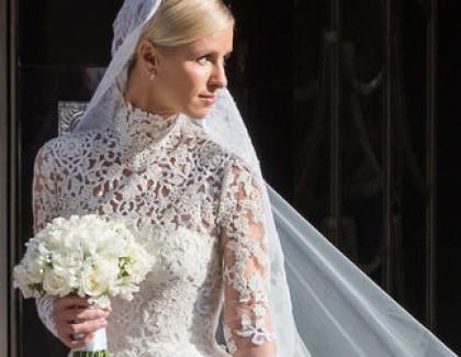 Сестра Пэрис Хилтон в платье за 77 тысяч долларов вышла замуж за Ротшильда (фото)