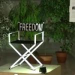 В МИД Украины открыли инсталляцию в поддержку Олега Сенцова
