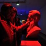 Во Львове открылась выставка скульптур для людей со слабым зрением