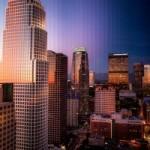 Фотограф показал рассвет и закат в мегаполисе на одном снимке