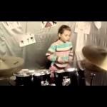7-летняя украинская барабанщица покоряет YouTube (видео)