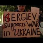 В Нью-Йорке пикетировали выступление российского дирижера, который поддержал аннексию Крыма