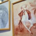 Во Львове показали забавные портреты Тараса Шевченко, нарисованные детьми