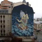 Мурал в Киеве попал в топ-10 стрит-арт объектов мира