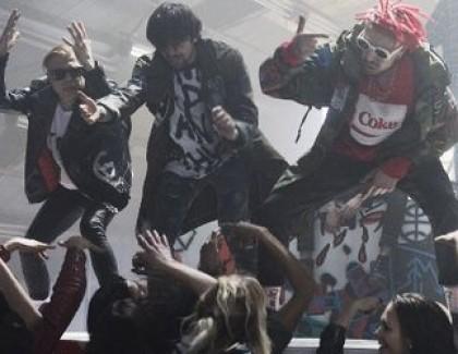 Екс-учасники «Quest Pistols» влаштували вечірку на заводі (відео)