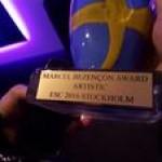 «Євробачення 2016»: Джамала удостоїлася нагороди за кращий виступ на думку коментаторів (фото)