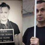Джонни Депп поддержал Сенцова в рамках кампаний «В заключении за искусство»