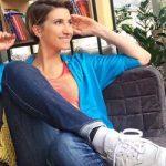 Анита Луценко похвасталась фигурой в бикини на отдыхе в Египте (фото)