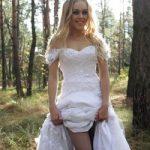 Певица Alyosha похитила свадебное платье (видео)
